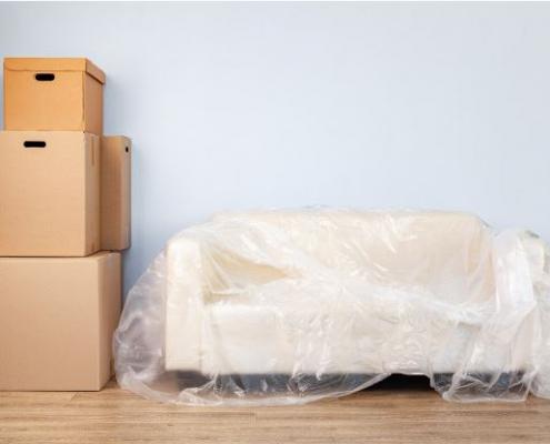 بسته بندی مبلمان